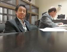 El exministro de Cultura y Deportes fue ligado a proceso por los delitos de asociación ilícita y cohecho pasivo. (Foto Prensa Libre: Esbin García)