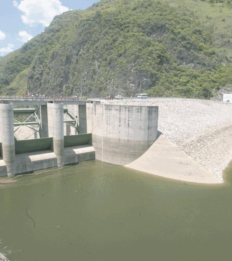 Hidroeléctrica Chixoy, propiedad del Instituto Nacional de Electrificación (INDE). (Foto Prensa Libre: Hemeroteca PL)