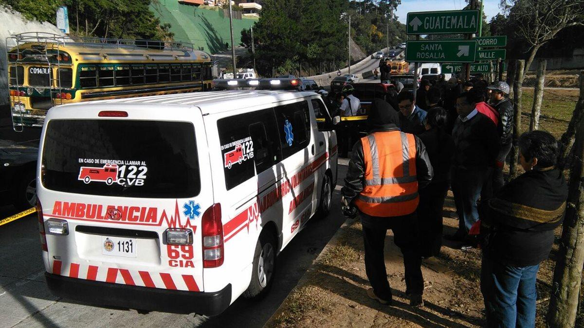 Conductor de microbús muere baleado