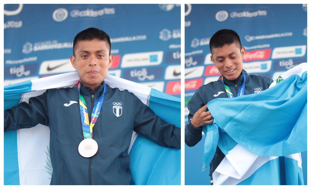 Williams Julajuj, el maratonista guatemalteco que trabajó 11 años para subir al podio en Barranquilla 2018