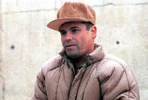 El narcotraficante mexicano Joaquín  El Chapo  Guzmán Loera.
