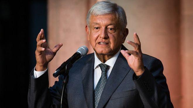 El presidente electo Andrés Manuel López Obrador amplió el proyecto de un tren en el sureste de México. GETTY IMAGES