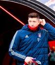 Robert Lewandowski es codiciado por varios clubes europeos y su futuro es una incógnita. (Foto Prensa Libre: AFP)