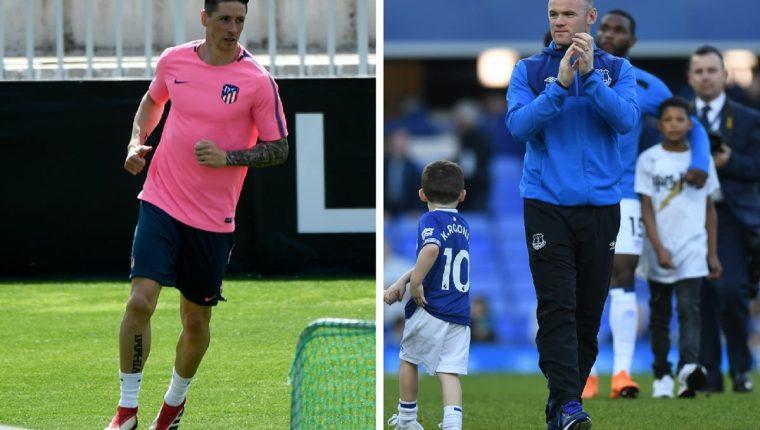 Fernando Torres y Wayne Rooney son los cracks que podrían fichar por un equipo de la MLS. (Foto Prensa Libre: AFP)