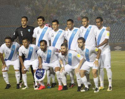 Este es el 11 del último partido que jugó la Selección de Guatemala, antes de la suspensión de Fifa. (Foto Prensa Libre: Hemeroteca PL)
