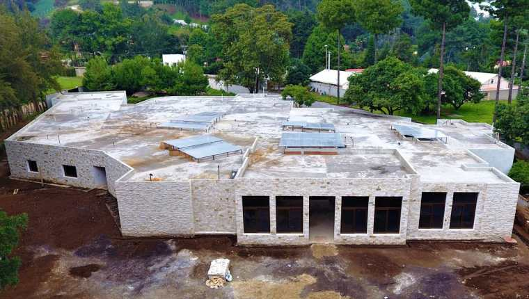 El Hospital Nasir será uno de los centros asistenciales más completos en Guatemala. Unos cien médicos, entre guatemaltecos y estadounidenses, atenderán a los pacientes.(Foto Prensa Libre: Cortesía La Humanidad es Primero)