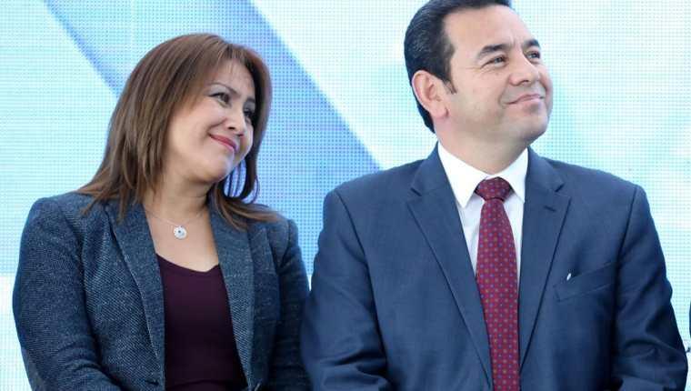 El presidente Jimmy Morales viajará a Israel junto a su familia, para la inauguración de la embajada en Jerusalén. (Foto Prensa Libre: Gobierno de Guatemala)