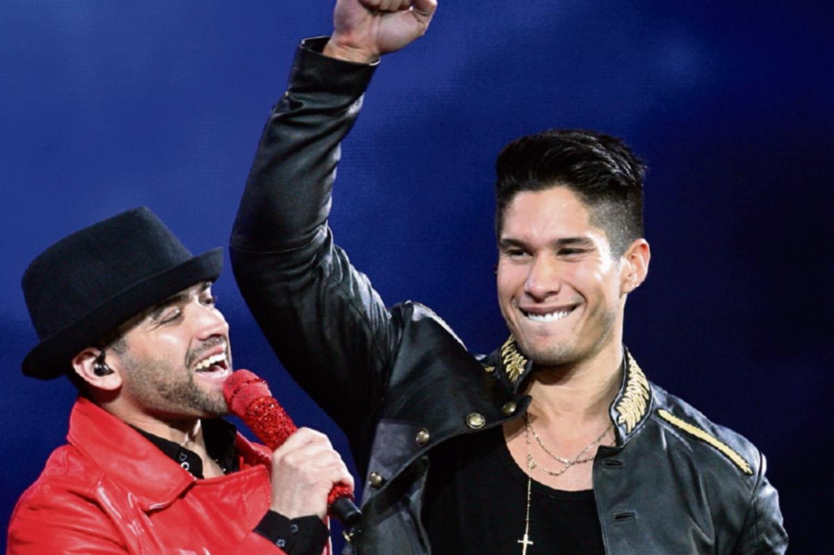 Compitenpor los Heat Latin Music Awards