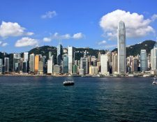 Vista panorámica del puerto de Hong Kong. (Foto Prensa Libre: Hemeroteca PL)