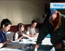 La primera vuelta electoral estuvo marcada por la participación histórica de los guatemaltecos (Prensa Libre: Hemeroteca)