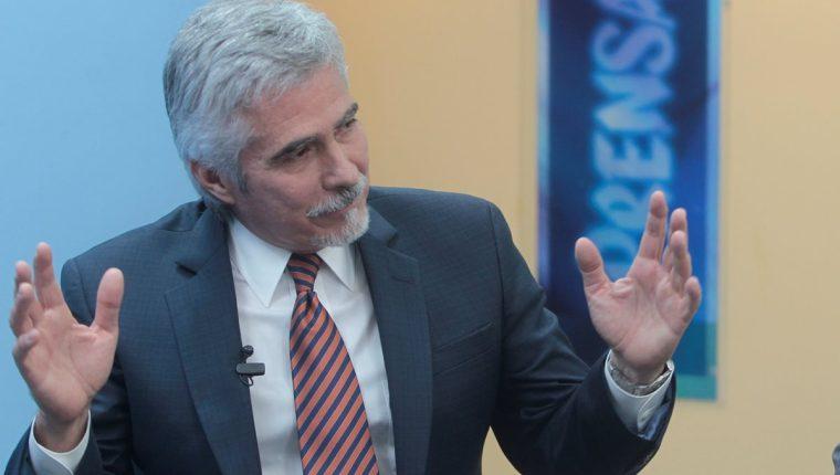 Ricardo Méndez-Ruíz declinó su participación.  (Foto Prensa Libre: HemerotecaPL)