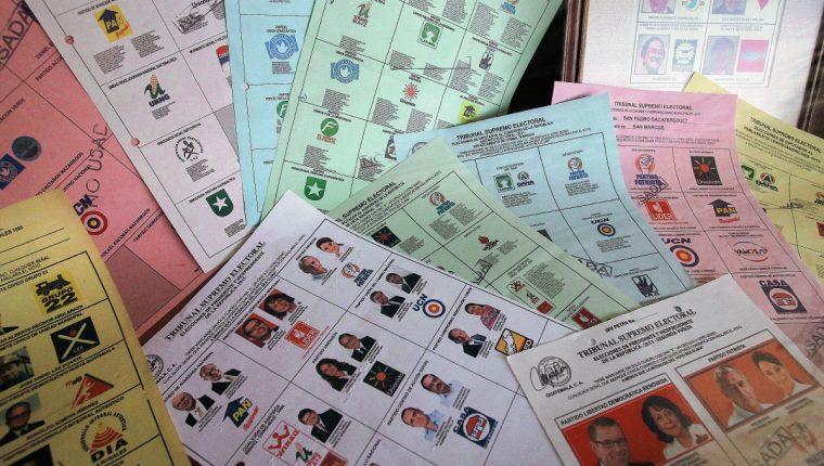 El TSE planifica hacer la compra de papel para las papeletas a través de una compra directa. (Foto Prensa LIbre: Hemeroteca PL)
