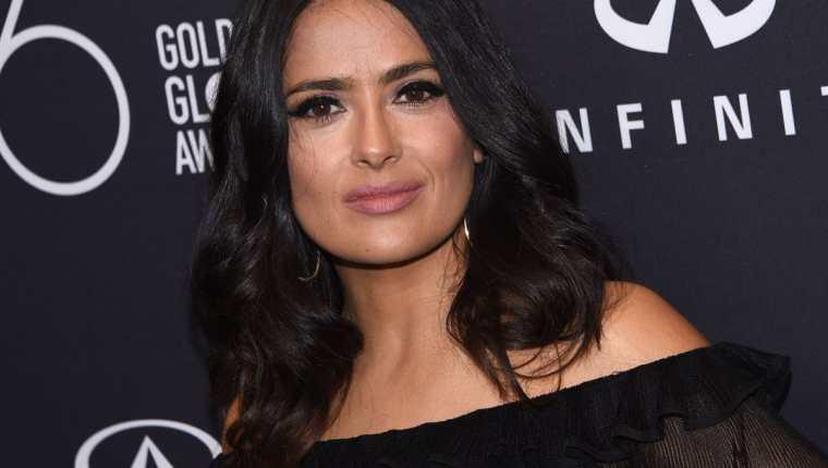 Salma Hayek participará como productora en Netflix (Foto Prensa Libre: AFP).