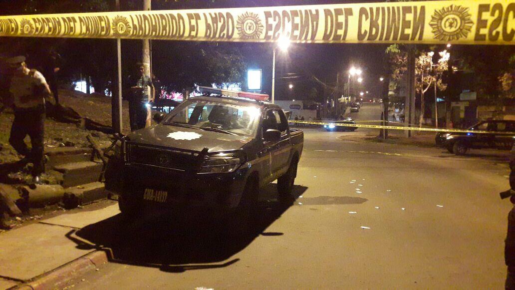 Dos PNC mueren en emboscada de pandilleros en la zona 21