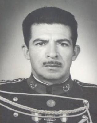 Efraín Ríos Montt en su uniforme de General del Ejercito. (Foto Prensa Libre: Cortesía)