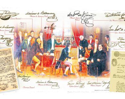 ¿Quiénes firmaron el acta de Independencia de Guatemala en 1821?