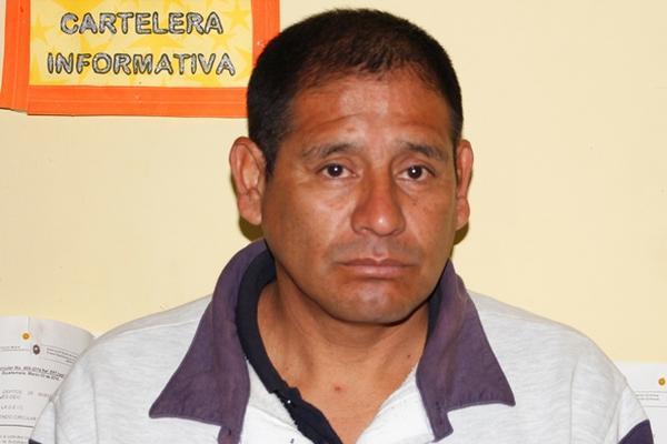 Gonzalo Geovany Vásquez Pérez, 47 años (Foto Prensa Libre: PNC)