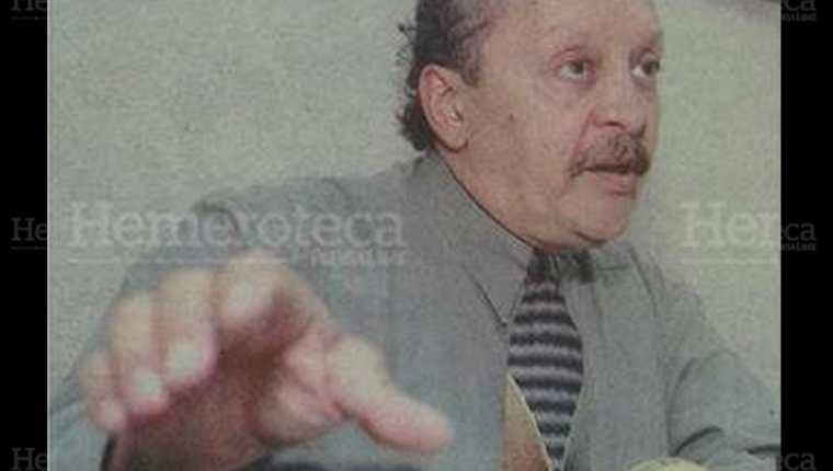El diputado Héctor Kleé, quien aparentemente se suicidó el 15/9/1998.(Foto: Hemeroteca PL)