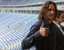 Carles Puyol estará en Guatemala en agosto próximo. (Foto Prensa Libre: Hemeroteca PL)