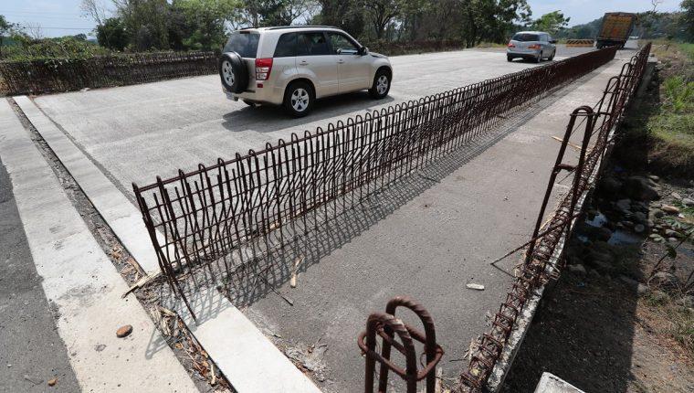 El caso Odebrecht en Guatemala aún está en investigación, en tanto la carretera encargada a la empresa brasileña quedó a media construcción. (Foto Prensa Libre: Hemeroteca PL)