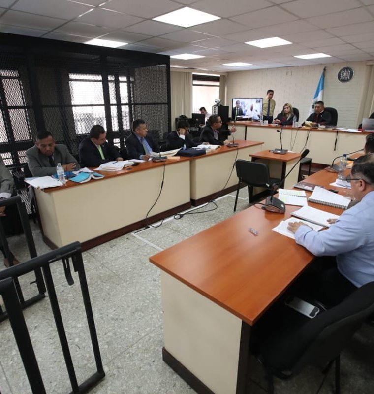 El Ministerio Público pidió al Tribunal que las reparaciones que se aprueben sean humanamente posible. (Foto Prensa Libre: Paulo Raquec)