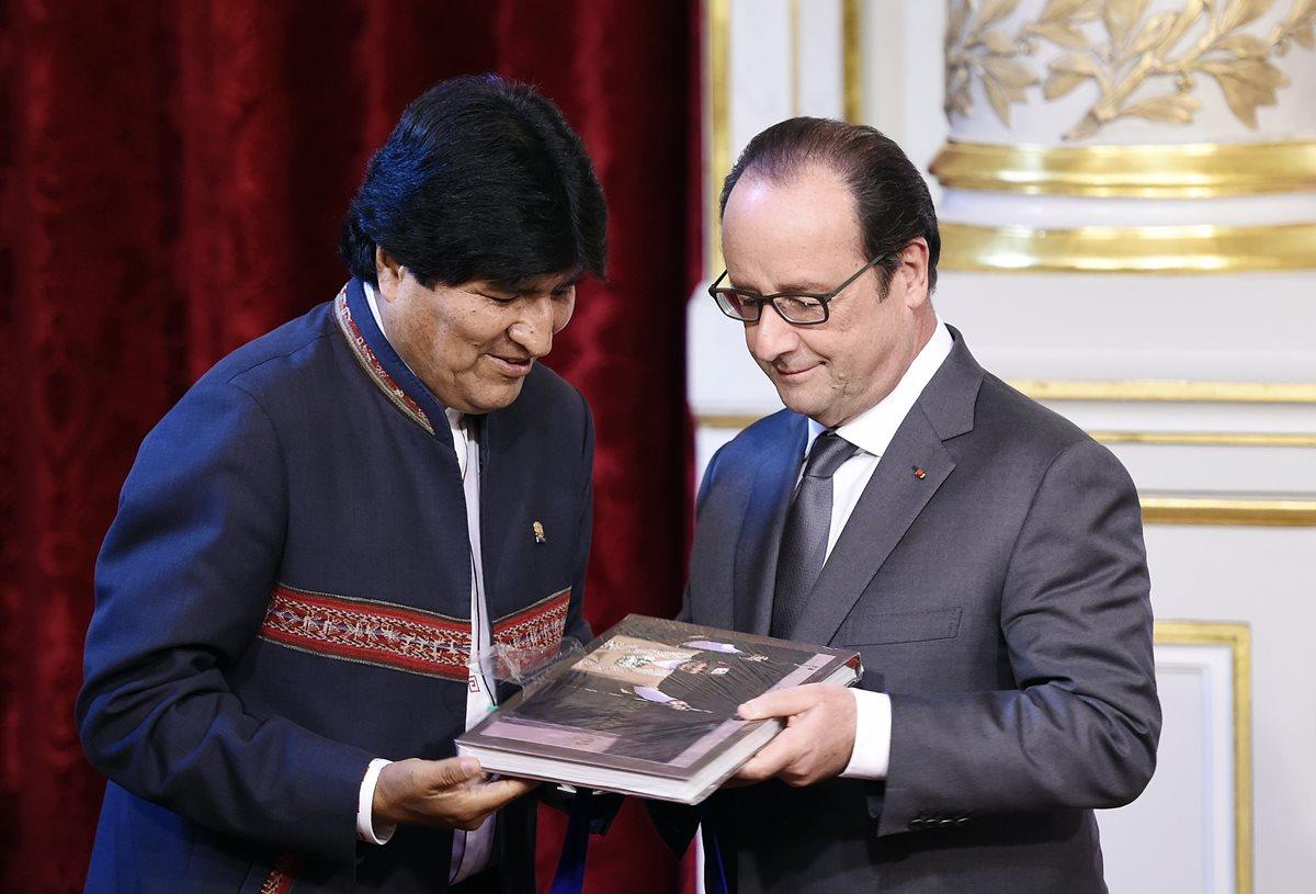 Francia y Bolivia firman acuerdo para la compra de radares