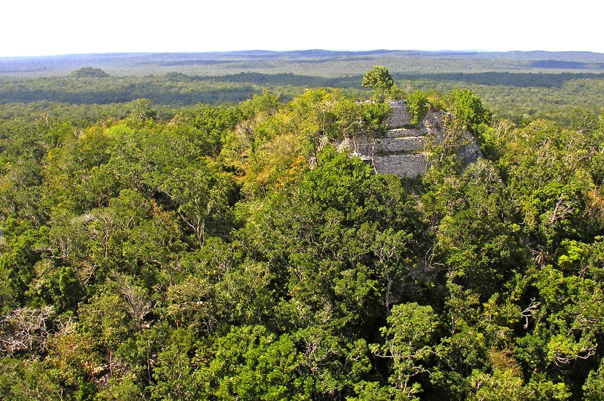 El territorio conquistado por los mayas
