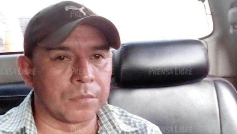 Arlin Gervand López, sindicado de la muerte de dos comunicadores en Mazatenango, Suchitepéquez. (Foto Prensa Libre)