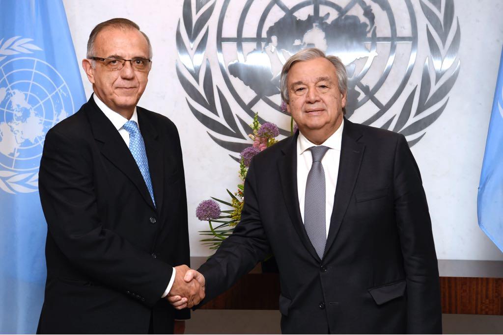 El secretario general de la Naciones Unidas expuso el trabajo de la Cicig como ejemplo del apoyo que la ONU da en la lucha contra la corrupción. (Foto Prensa Libre: ONU)