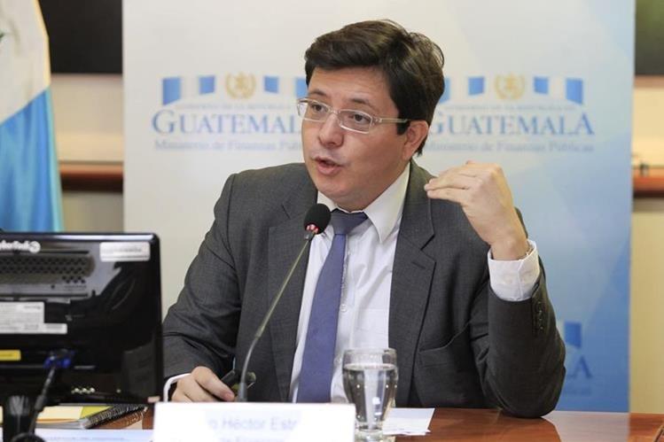 Julio Héctor Estrada, ministro de Finanzas. (Foto: Hemeroteca PL)