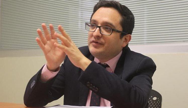 Juan Francisco Sandoval, jefe de la Fiscalía Especial contra la Impunidad (Feci) del Ministerio Público. (Foto Prensa Libre: Hemeroteca PL)
