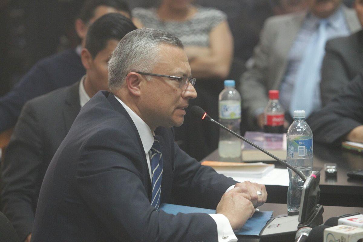 """Eco: """"Fui yo quien identificó como 1 y 2 a Pérez y Baldetti"""" para distribuir sobornos"""