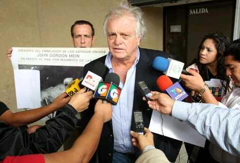 Michael Plocharski, denunciante. (Foto Prensa Libre: Erick Avila)