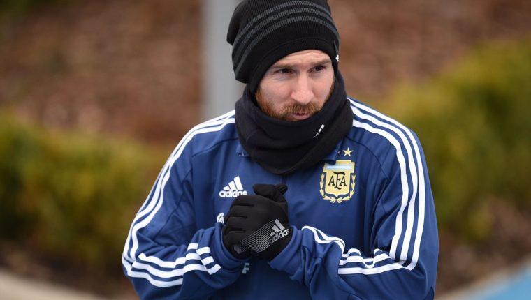 Messi tampoco jugó el partido amistoso frente a Italia el viernes por la tarde. (Foto Prensa Libre: AFP)