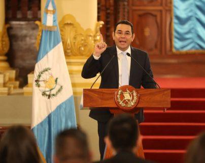 Jimmy Morales insiste en que elecciones deben ser libres y sin injerencia