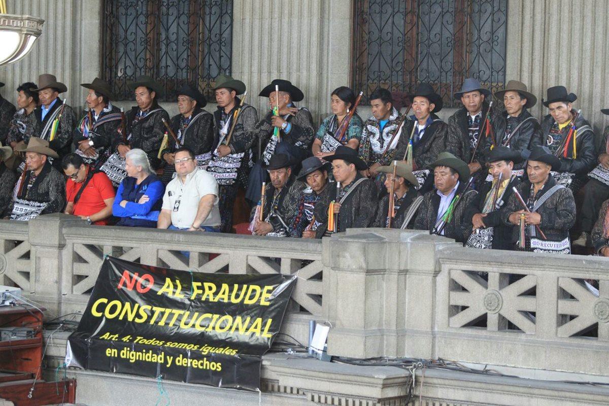 Congreso estanca discusión de derecho indígena