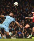 El Mánchester City empató sin goles con el Mánchester United en un partido atrasado de la fecha 28 de la Liga Premier. (Foto Prensa Libre:AFP)