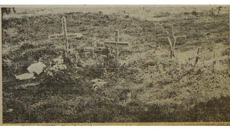 Miles de cadáveres fueron enterrados en fosas comunes luego del terremoto de 1976. (Foto: Hemeroteca PL)