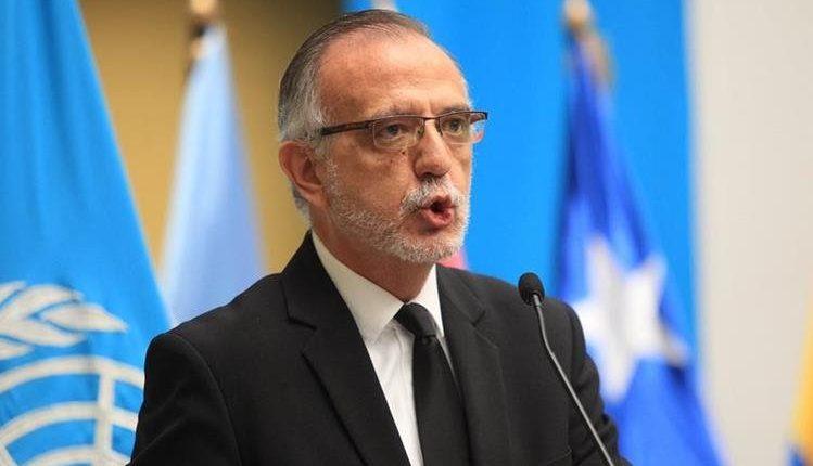 Iván Velásquez, director de Cicig. (Foto Prensa Libre: Hemeroteca PL)