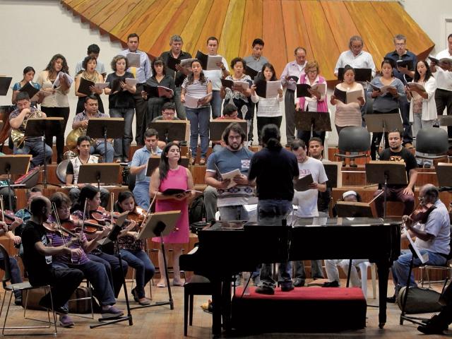 El Coro Universitario y la Orquesta Sinfónica Nacional ofrecerán un concierto de gala en la Sala Efraín Recinos del Centro Cultural Miguel Ángel Asturias, la próxima semana.