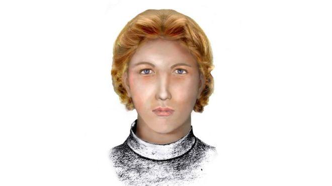 Una reconstrucción realizada por la policía de Cuba muestra cómo pudo ser el rostro de Enriqueta Favez. (Foto: Cortesía de Julio César González Pagés)