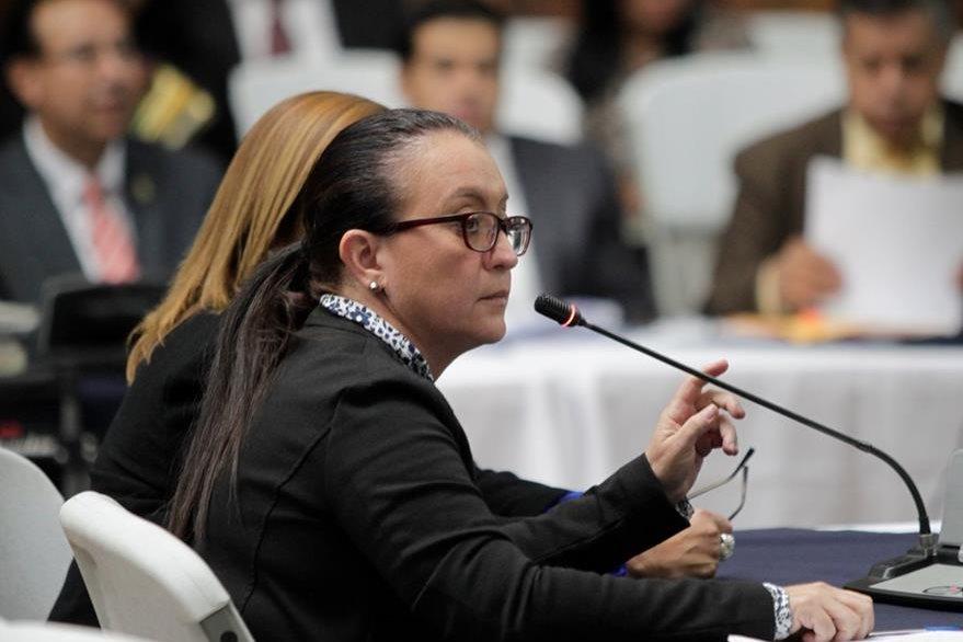 Judith del Rosario Ruiz, exasistente de Baldetti. Señalada de asociación ilícita y lavado de dinero. (Foto Prensa Libre: Archivo)