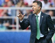 Juan Carlos Osorio tuvo muchos altibajos durante su gestión en la selección de México. (Foto Prensa LIbre: Hemeroteca PL)