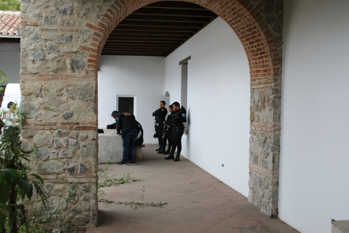 Así es la casa de Alejandro Sinibaldi ubicada en la Antigua Guatemala, que pasará a la Senabed. (Foto Prensa Libre: MP)