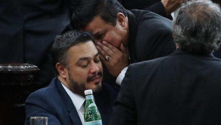 Javier Hernández, un allegado a Jimmy Morales, rechazó hablar sobre el correo electrónico. (Foto Prensa Libre: Hemeroteca PL)