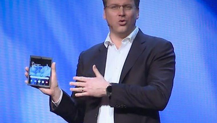 La Infinity Flex Display es la nueva apuesta de Samsung (Foto Prensa Libre: AFP / Samsung).