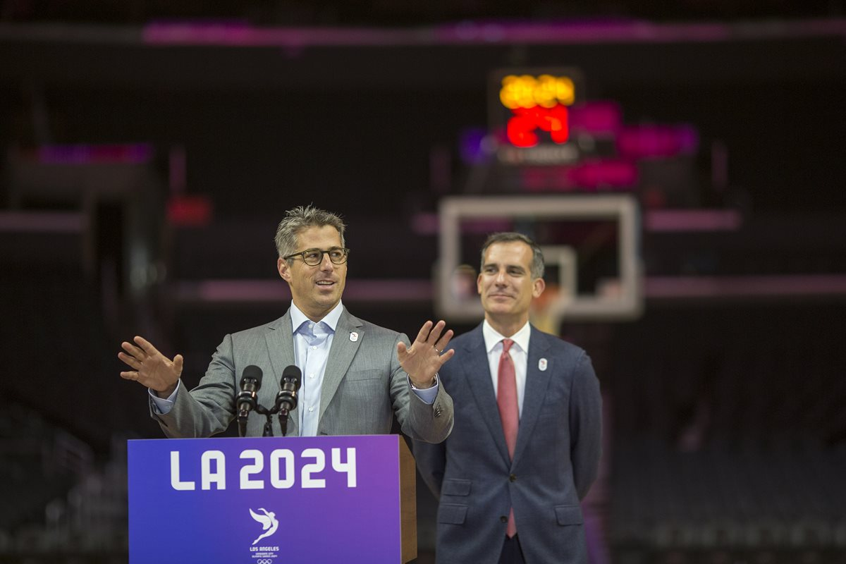 """El COI elogia candidatura de Los Ángeles-2024 """"sin riegos"""" y """"sin agujeros"""""""