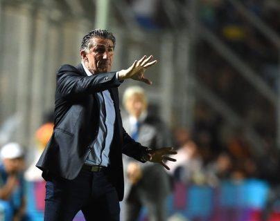Edgardo Bauza ofreció intermediar para que la Selección vuelva a hablar con los medios. (Foto Prensa Libre: AFP).