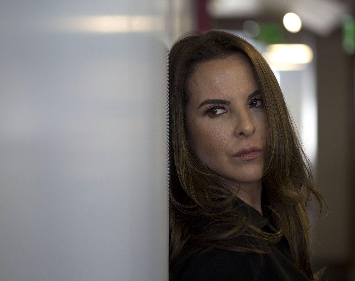 """Kate del Castillo está nominada a los Premios Platino por su papel en """"Ingobernable"""" (Foto Prensa Libre: EFE)."""