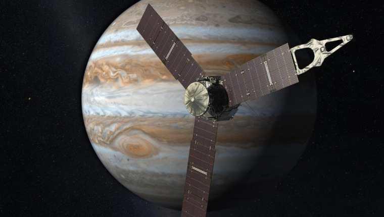 La sonda Juno marcó un hito en la historia de la astronomía. (Foto: Nasa)